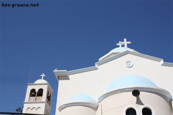kos town church picture