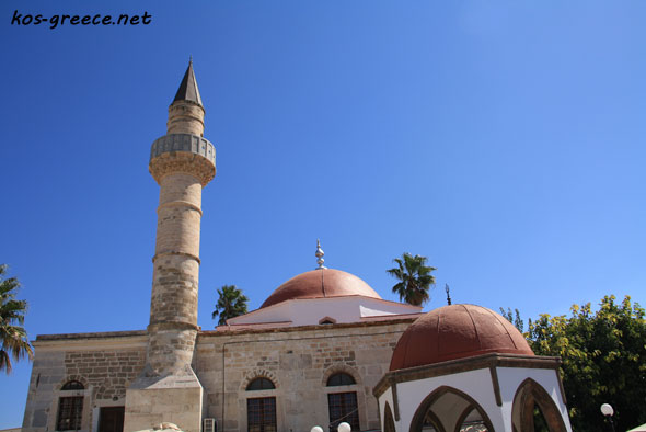 kos town mosque photo