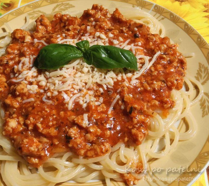 Spaghetti po mojemu