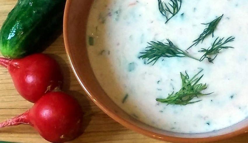 Chłodnik ogórkowo-pomidorowy