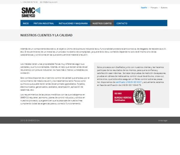 simeyco web oficial de pintura liquida y pintura en polvo