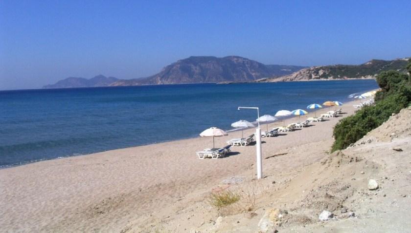 Schöner Strand zum Wetter Link