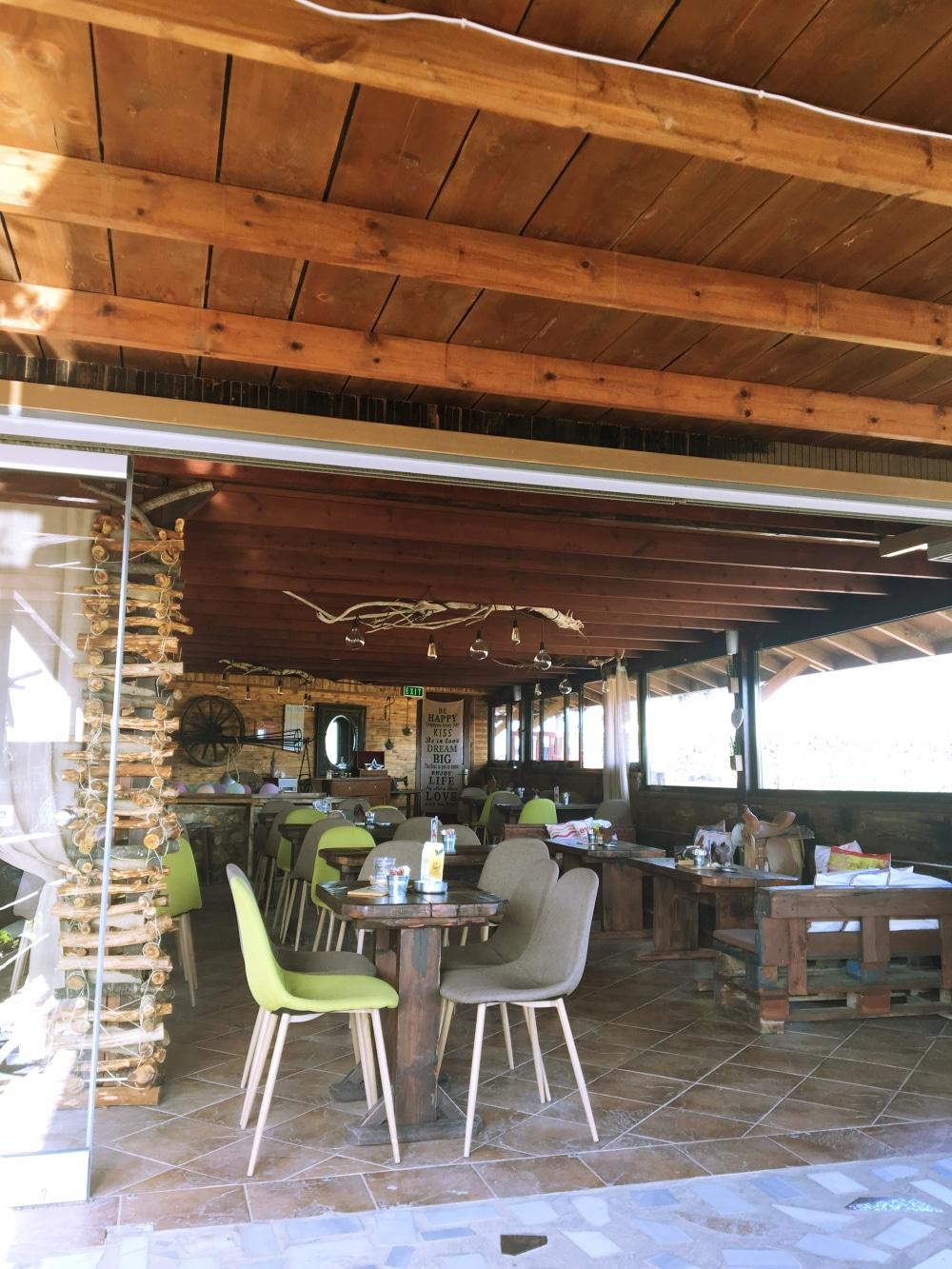 Inneneinrichtung vom Cafe von Erikas Horsefarm