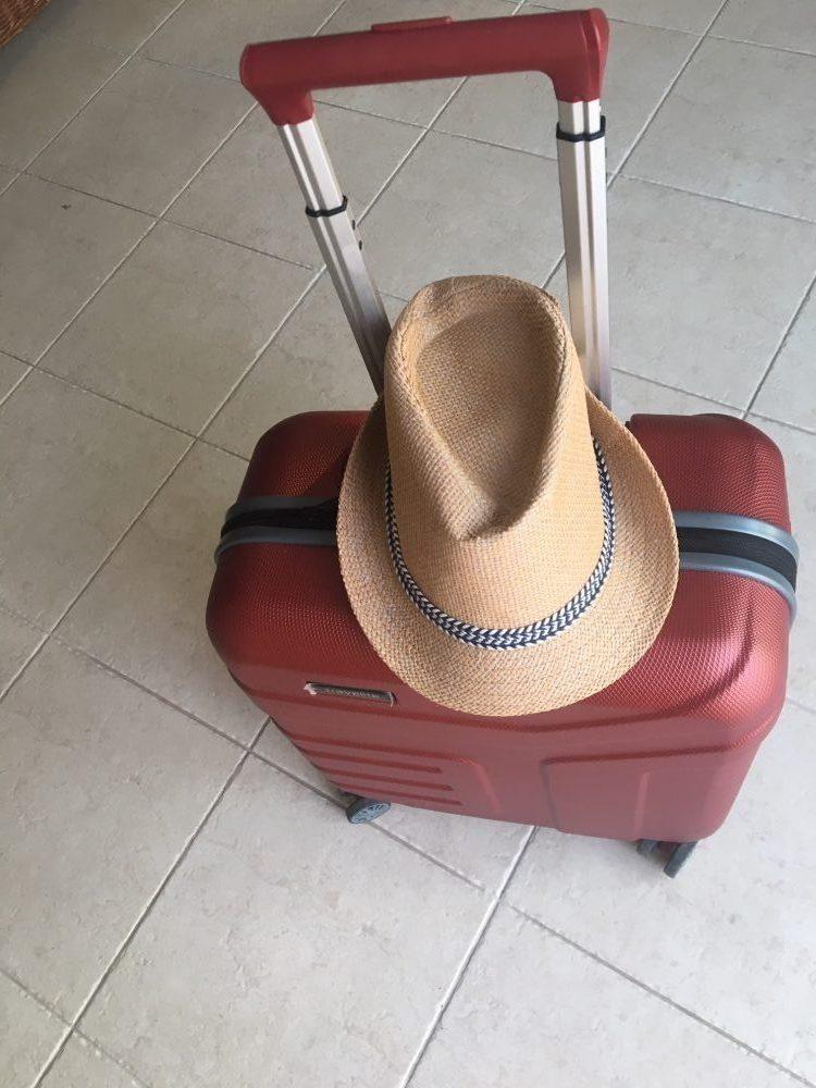 Packliste neuer Troly fürs Hotel