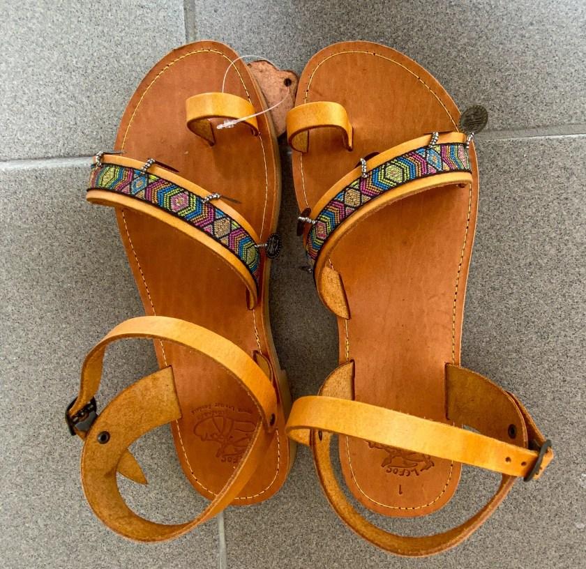 Schicke Sandalen von lefos-handmade auf Kos
