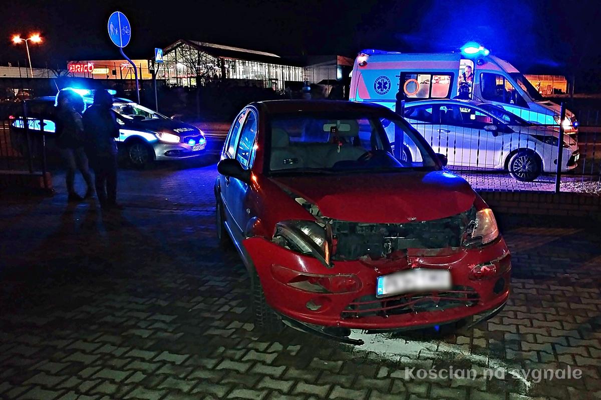 Trzy pojazdy uczestniczyły w kolizji na ul. Śmigielskiej