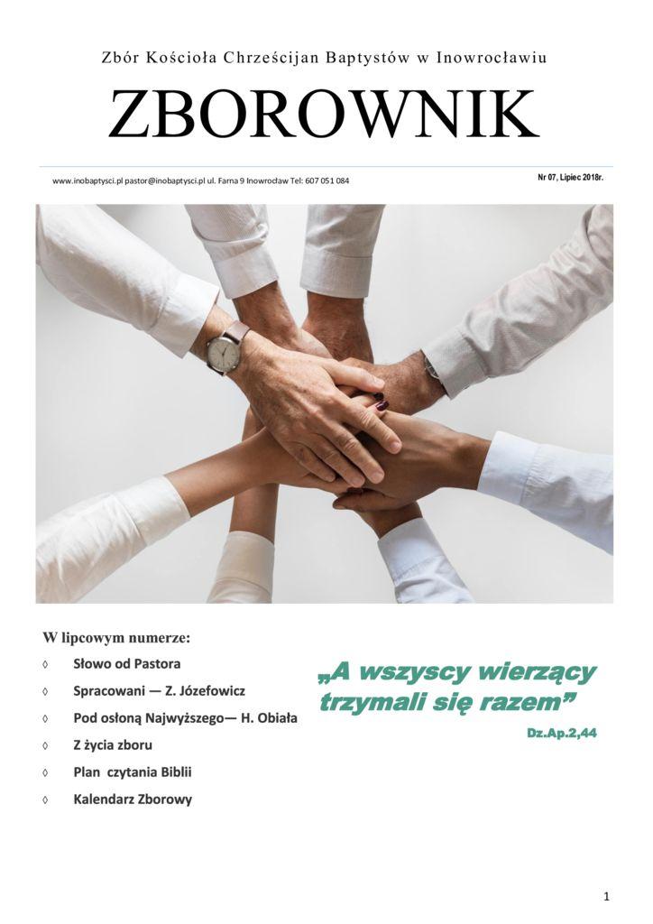 Zborownik lipiec 2018