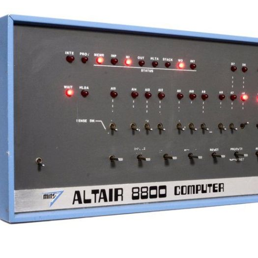 Altair 8800 - The first PC