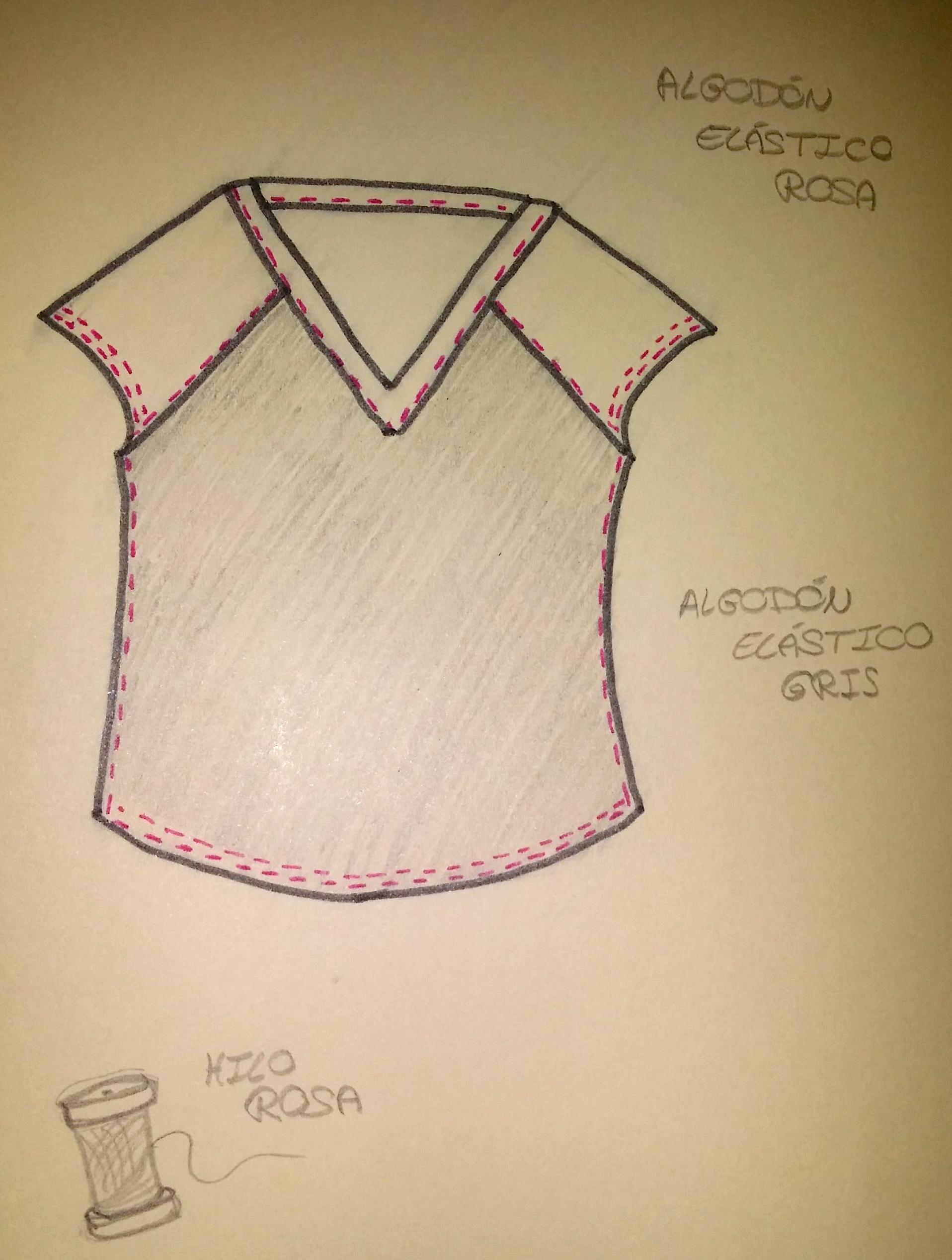 Como hacer una camiseta sin patrn  KoserkonK