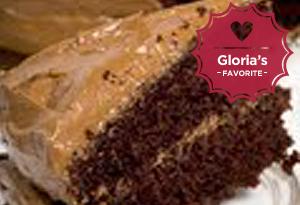 Chocolate Cake with Mocha Icing
