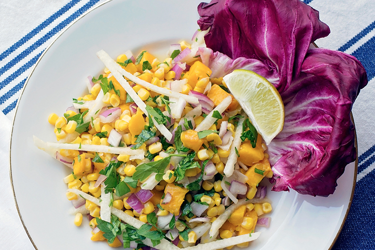 Mango, Jicama, and Corn Salad