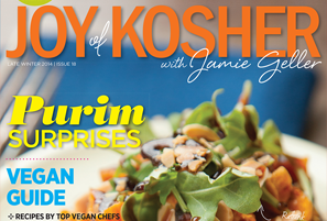 Purim Recipe Featured in Joy of Kosher Magazine!