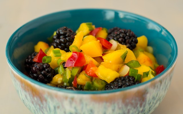 Blackberry-Mango Salsa