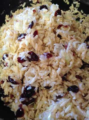 Rice with Sauteed Vegetables