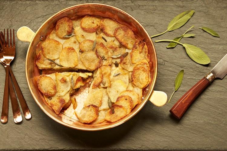 Potato-Apple Galette