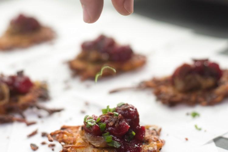 Turkey Bacon Potato Latkes