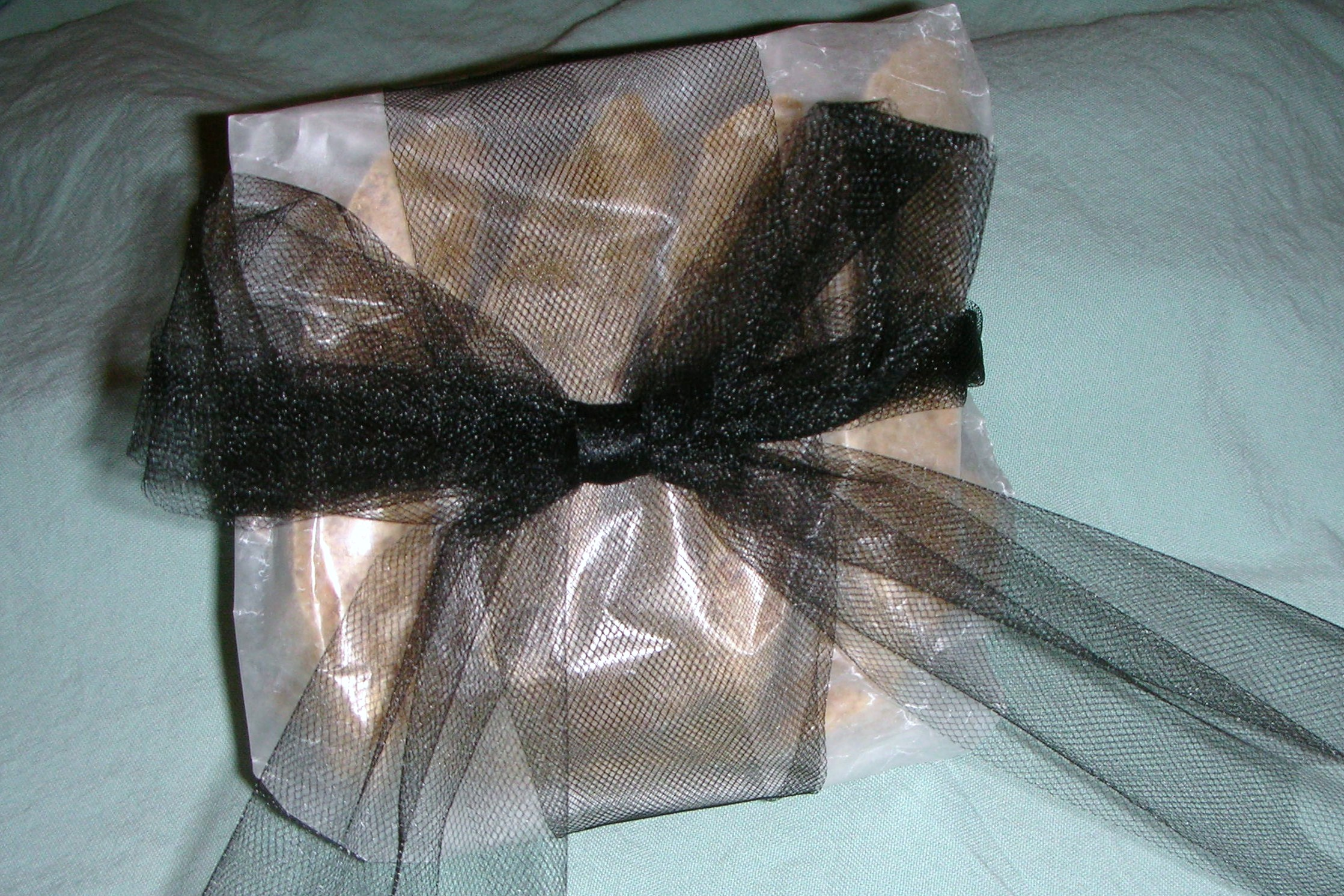 Tuscan almond biscotti, wrapped