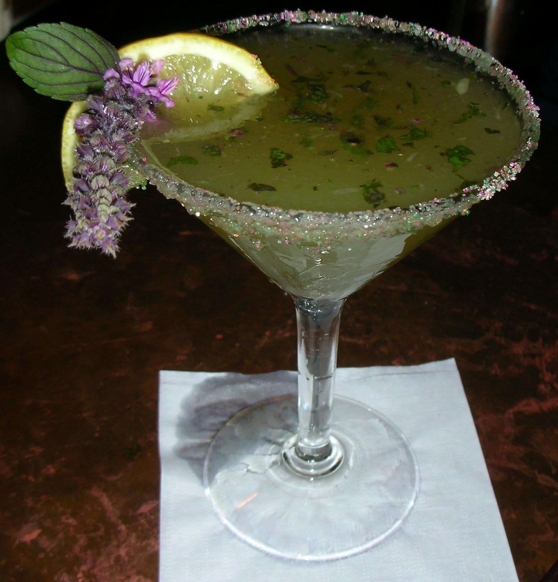 Basil Lemon Drop - Garden at the Cellar