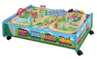 Thomas & Friends Compatible 62-Piece Wooden Train Set and ...