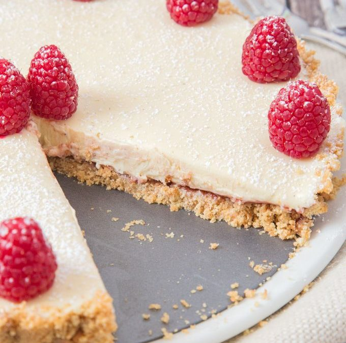 Easy-To-Make White Chocolate Torte (Kosher)