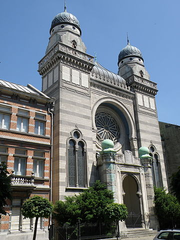 The Hollandse Synagogue of Antwerp