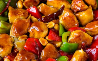 Super Savory Kosher Kung Pao Chicken
