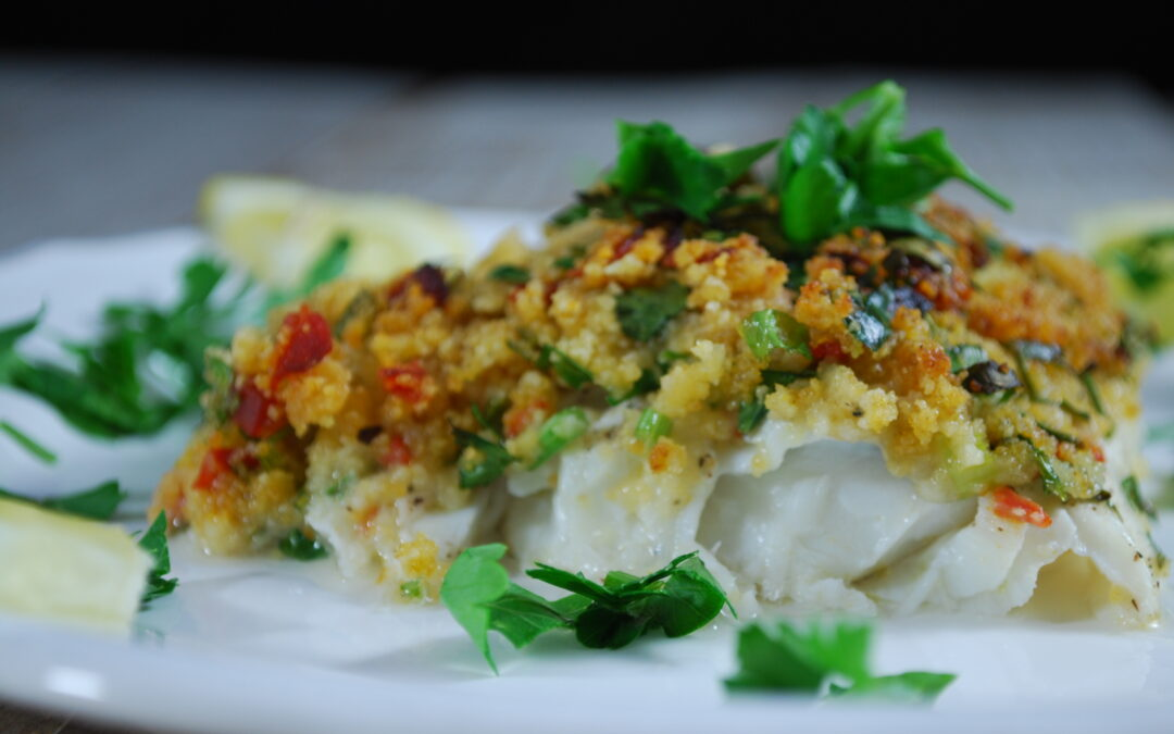 Cod Fillets With Herb Crust