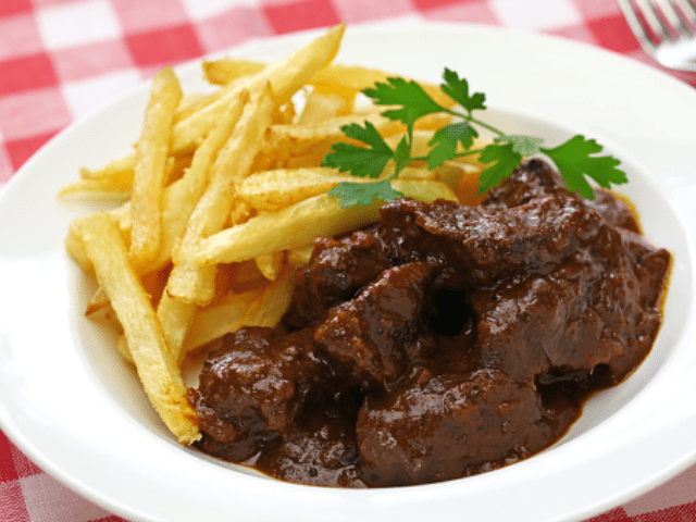 Carbonade of Beef Flammande