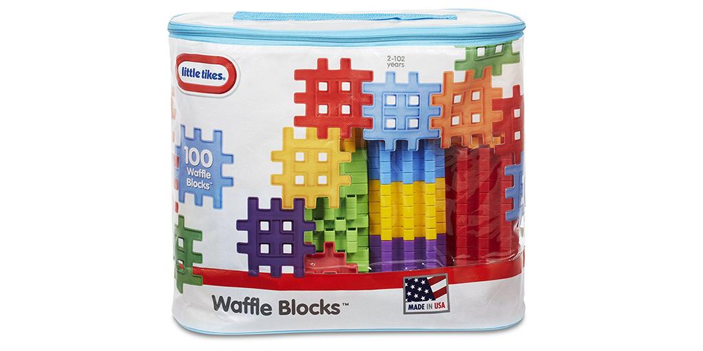 Amazon BEST PRICE: Waffle Blocks
