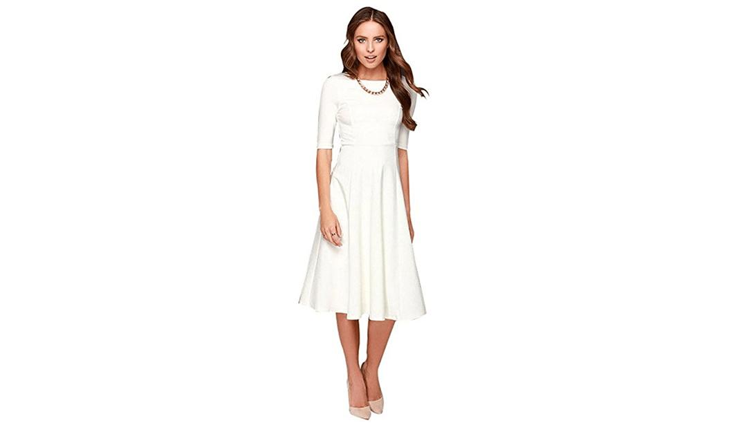 White Dresses on Amazon