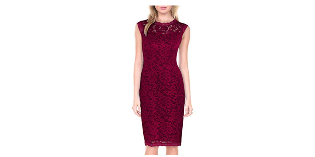 Amazon COUPON: Styleword Women's Lace Cocktail Dress