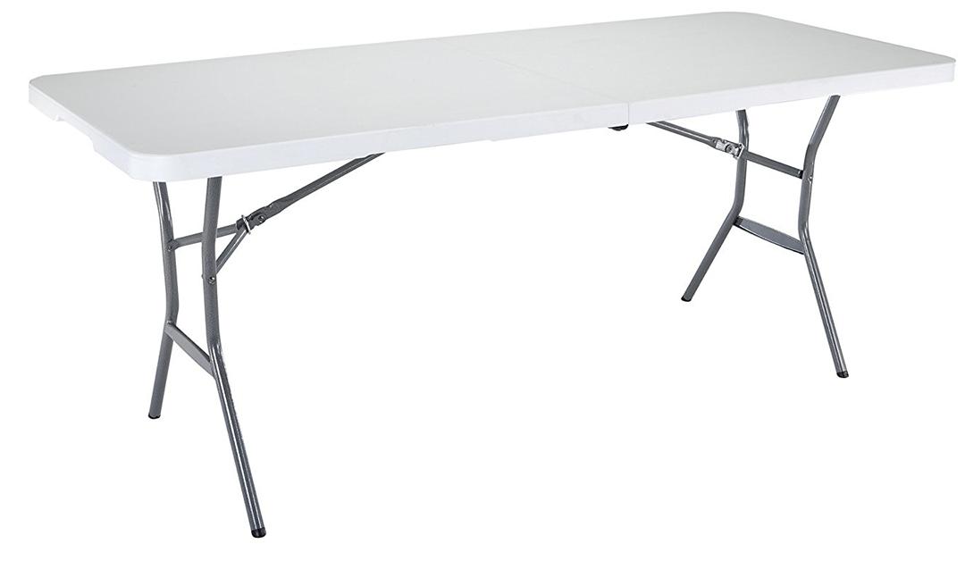 Amazon GOOD DEAL: Lifetime 6ft Folding Table