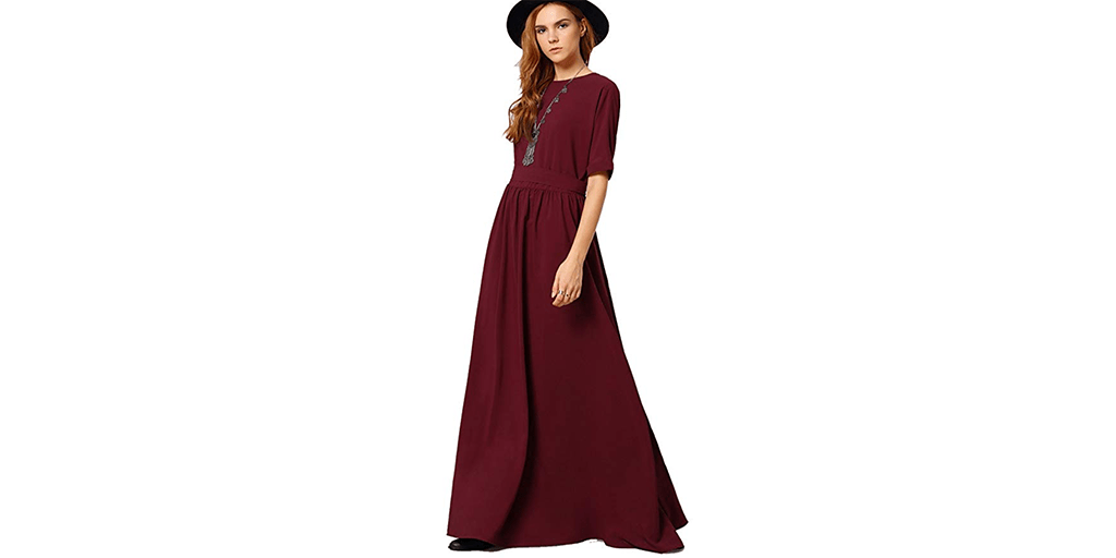 Amazon GREAT DEAL: Romwe Maxi Dress