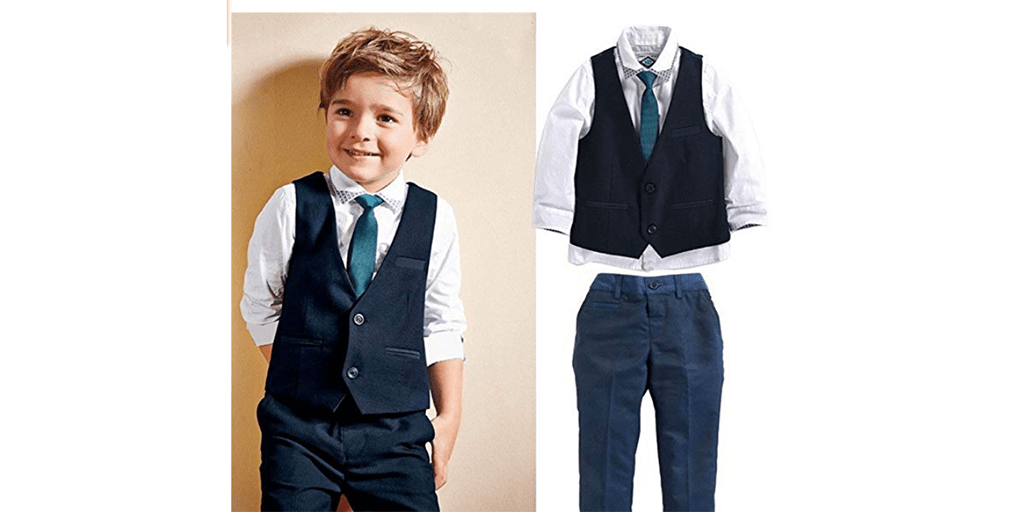 Amazon COUPON: Boys' Shabbat / Dress-up Outfits
