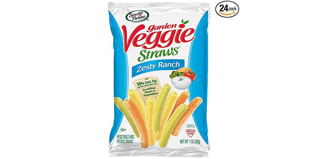 Amazon SUBSCRIBE & SAVE COUPON: Garden Veggie Straws, Zesty Ranch