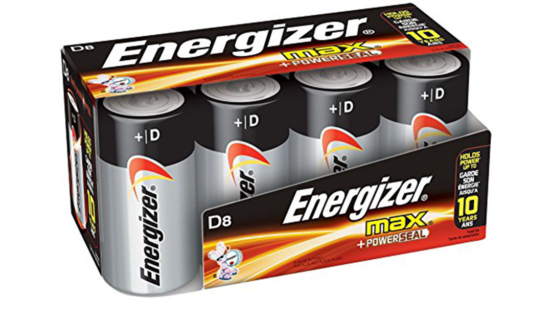 Amazon BEST PRICE SUBSCRIBE & SAVE: Energizer D Cell Batteries