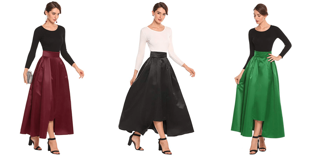 Amazon COUPON: Zeagoo Formal Party Skirt