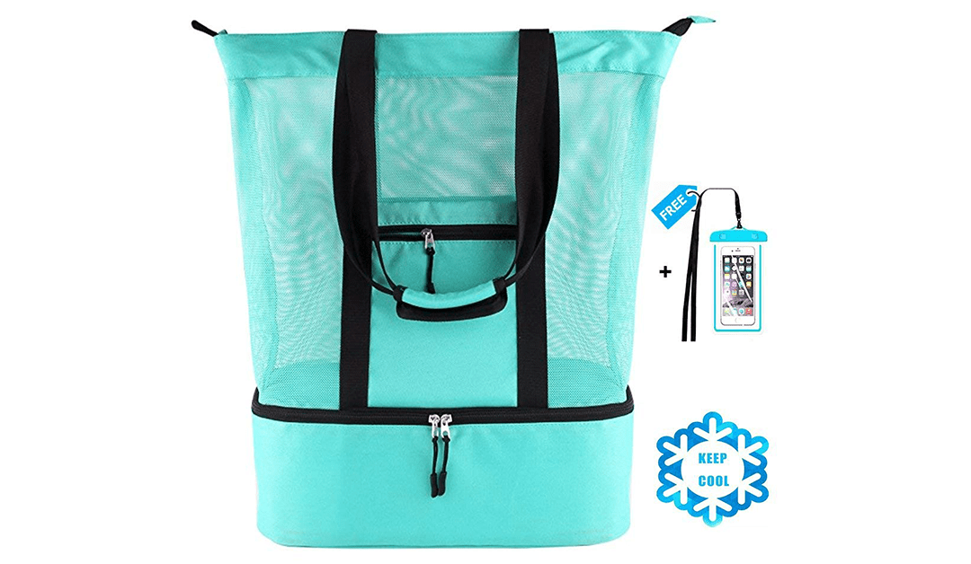Amazon | BEST PRICE + COUPON: Beach Bag with Cooler
