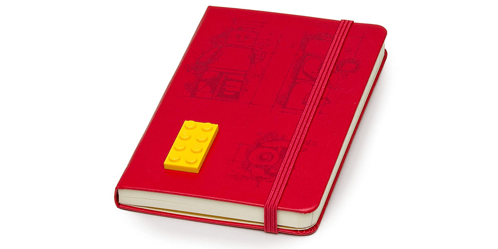 Amazon | BEST PRICE + ADD-ON: Lego Moleskin Notebook
