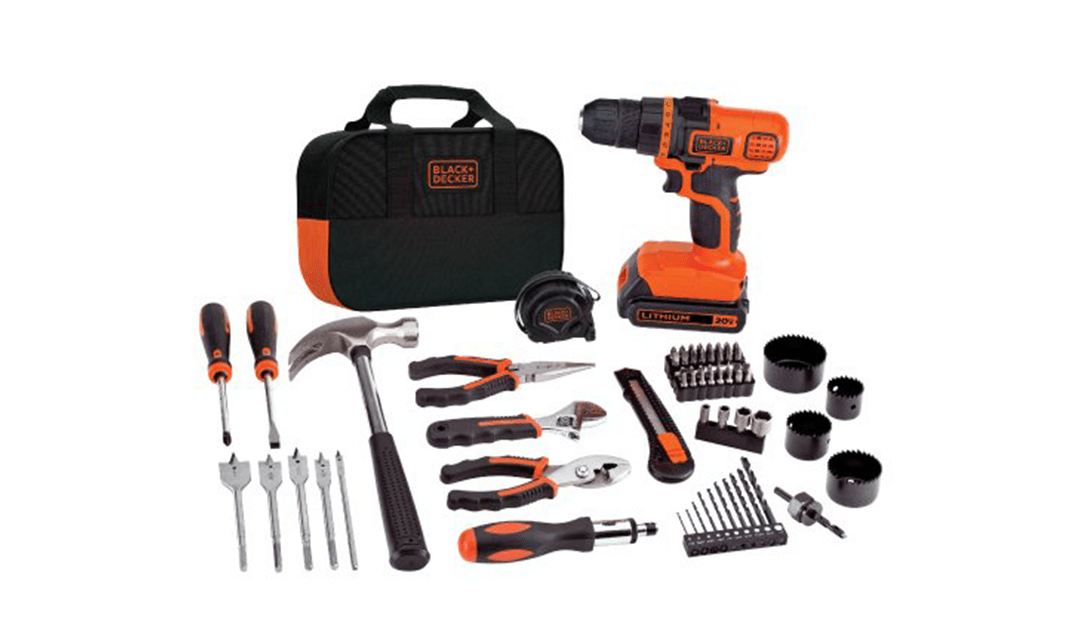 Amazon | BEST PRICE: Black & Decker Cordless Drill & Project Kit