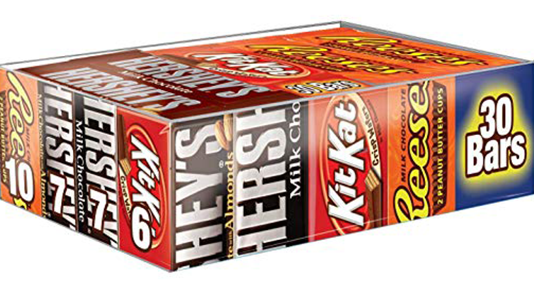 Amazon | BEST PRICE: Full-Size Hershey's Chocolate Bars