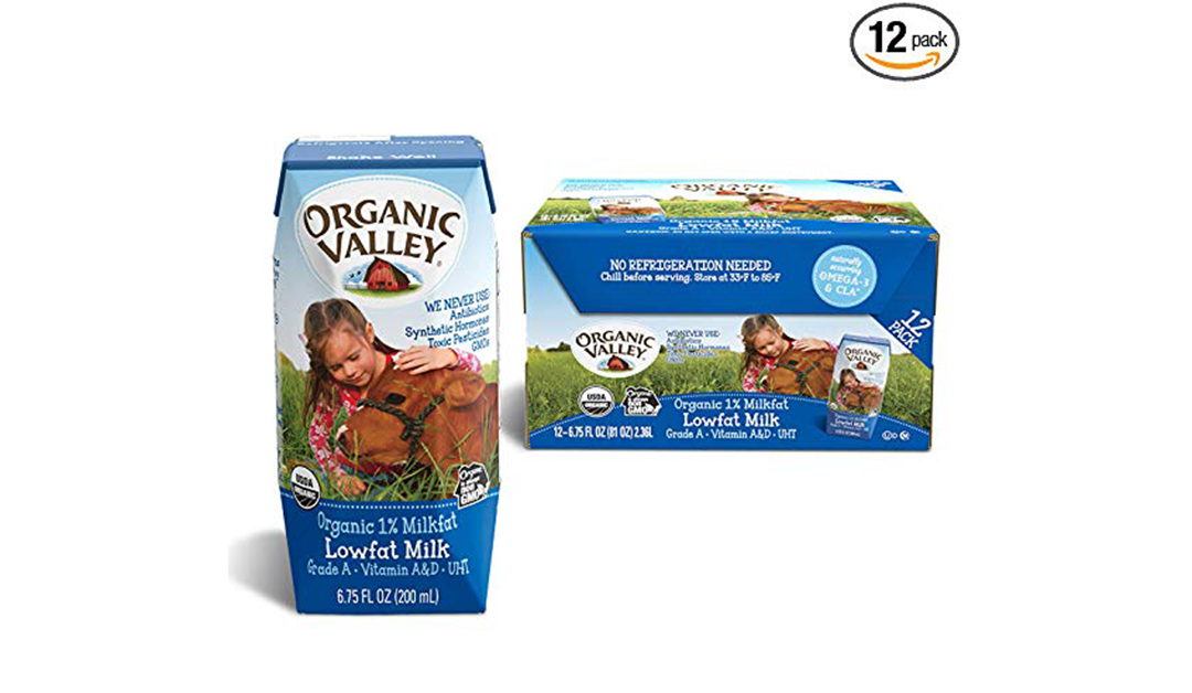 Amazon | BEST PRICE + SUBSCRIBE & SAVE: Organic Valley Milk Boxes