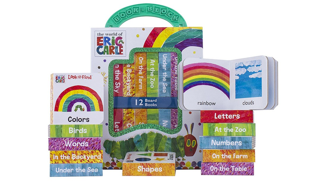 Amazon | BEST PRICE: Eric Carle Board Books