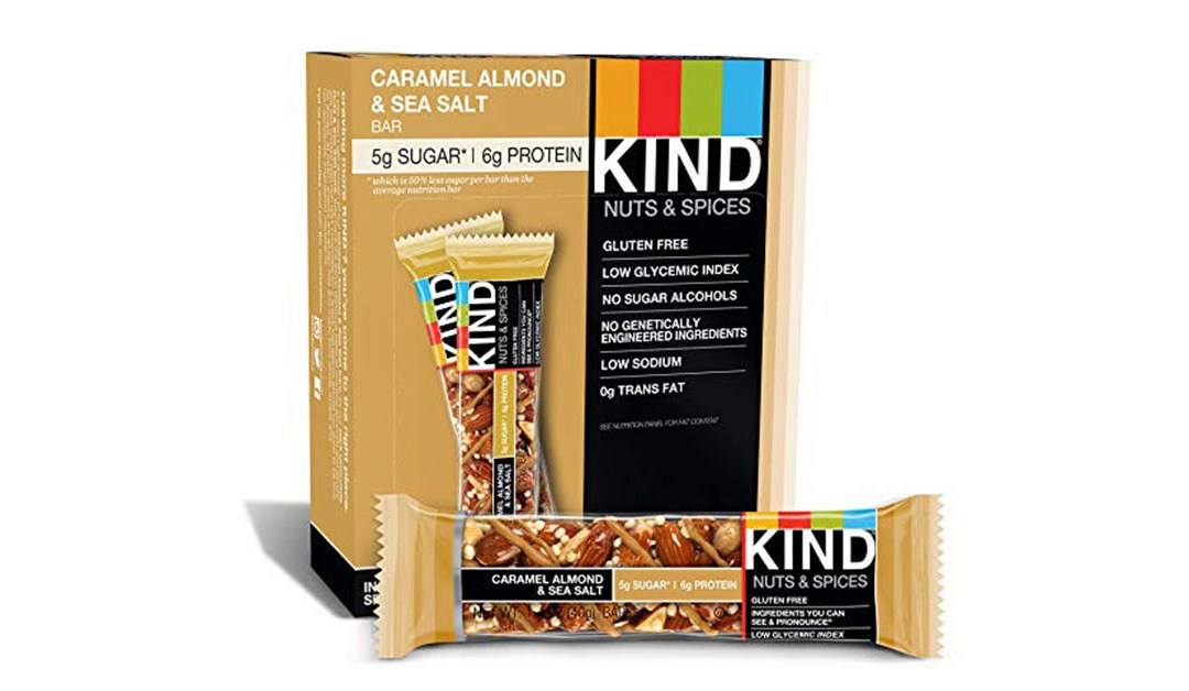 Amazon | BEST PRICE + LIGHTNING DEAL: Kind Bars Caramel Almond & Sea Salt
