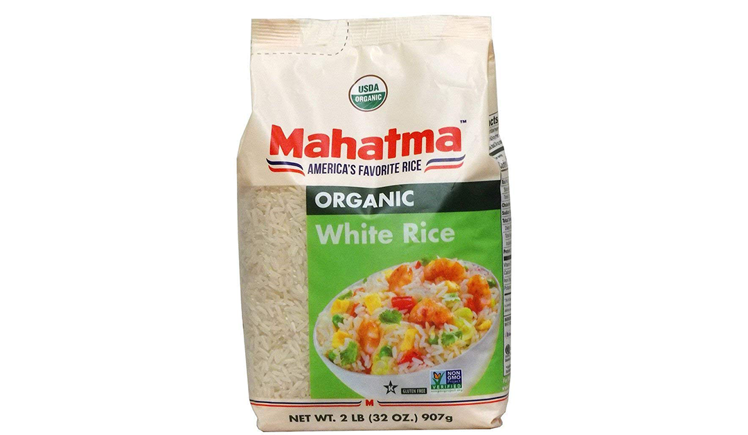 Amazon | BEST PRICE + ADD-ON: Mahatma Organic White Rice 2lbs