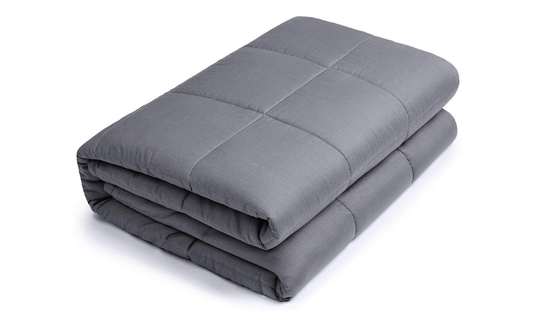 Amazon | BEST PRICE + COUPON: Buzio Weighted Blankets