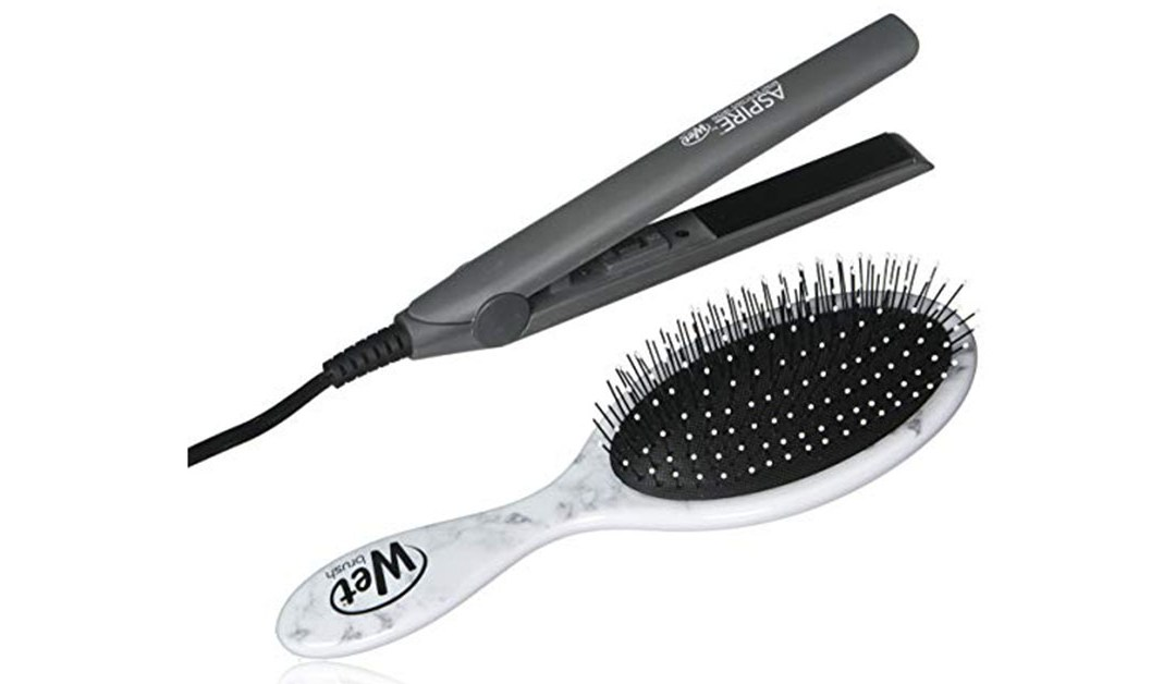 Amazon | BEST PRICE: Wet Brush and Flat Iron