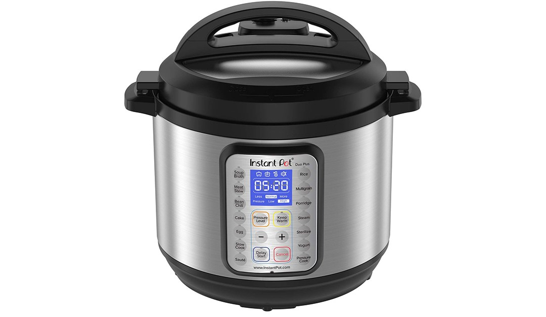 Amazon | BEST PRICE + DEAL OF THE DAY: Instant Pot DUO Plus 8 Qt 9-in-1 Multi- Use Programmable Pressure Cooker, Slow Cooker, Rice Cooker, Yogurt Maker, Egg Cooker, Sauté, Steamer, Warmer, and Sterilizer