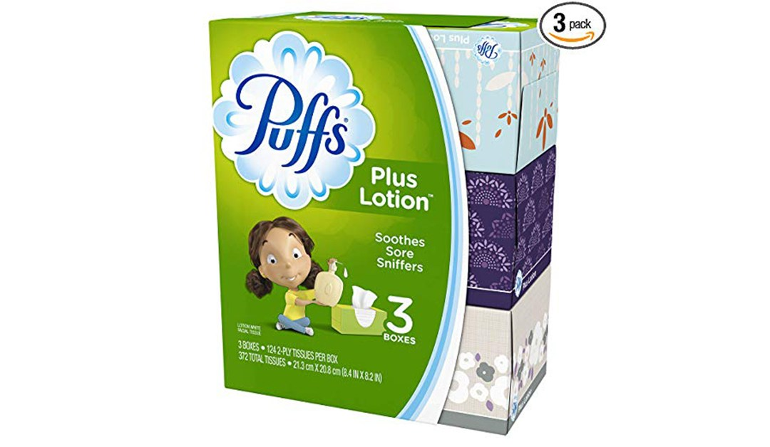 Amazon | BEST PRICE + ADD-ON: Puffs with Lotion