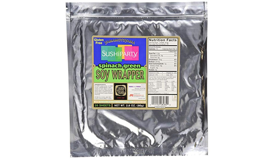 Amazon | GOOD DEAL + SUBSCRIBE & SAVE: Sushi Spinach Soy Wrappers